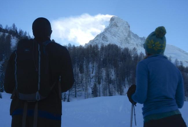 Looking at the Matterhorn
