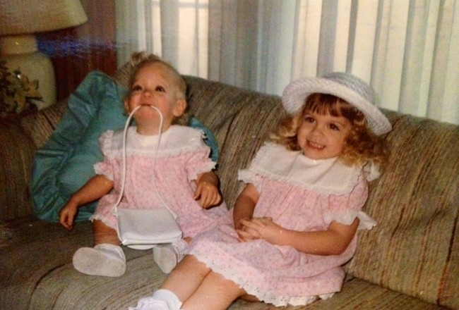 Easter 1988. I am the one on the left (in case there was any question).